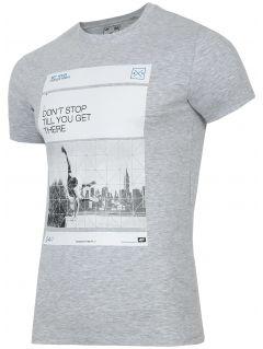 Men's T-shirt TSM027 - light grey