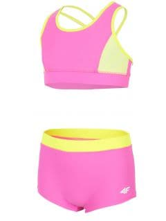 Swimsuit for big girls JKOS209 - pink