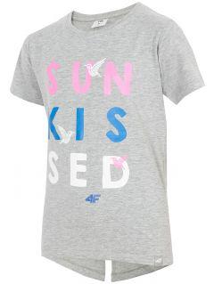 T-shirt for big girls jtsd216a - multicolor melange