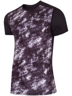 Men's active T-shirt TSMF223 - black