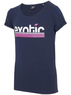 T-shirt for big girls jtsd218a - dark navy