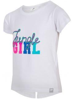 T-shirt for small girls jtsd111 - white