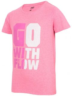 T-shirt for small girls jtsd110a  - pink neon