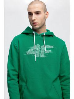 Men's hoodie BLM257 - green