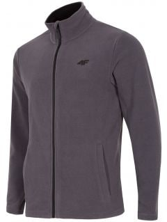 Men's fleece sweatshirt PLM300 - medium grey