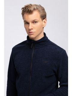 Men's fleece sweatshirt PLM300 - navy melange