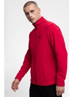 Men's fleece sweatshirt PLM300 -  red