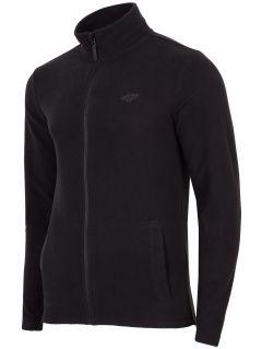 Men's fleece sweatshirt PLM304 - black