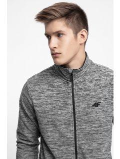 Men's fleece sweatshirt PLM304 - medium grey