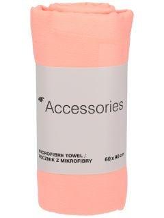 Sports towel RECU200A - powder coral neon
