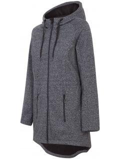 Women's softshell jacket SFD200B - dark grey melange