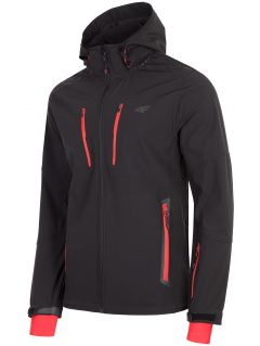 Men's softshell jacket SFM200 - black