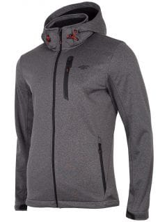Men's softshell jacket SFM202 - anthracite melange