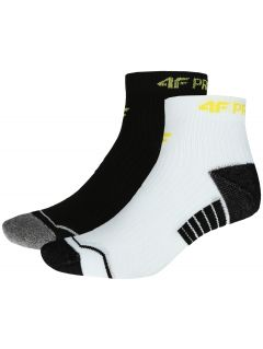 Men's socks (2 pairs) SOM204 - white + black