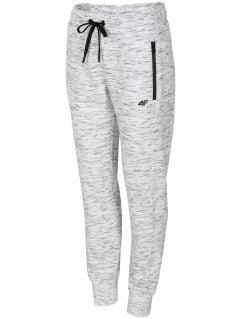 Women's sweatpants SPDD210 - light grey melange