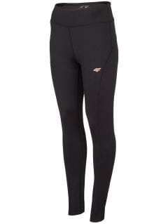 Women's active leggings SPDF302 - black
