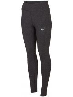 Women's active leggings SPDF302 - dark grey melange