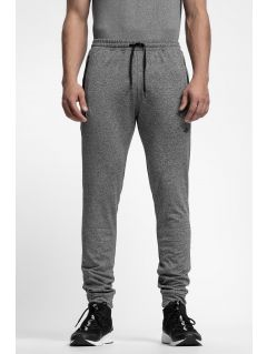 Men's sweatpants SPMD303 - medium grey melange