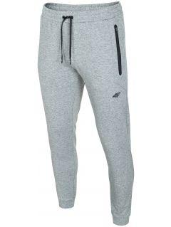 Men's sweatpants SPMD303 - light grey melange