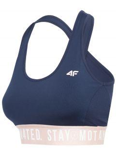 Women's sports bra STAD400 - dark navy