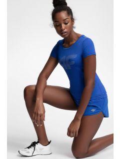 Women's active T-shirt TSDF107 - cobalt blue