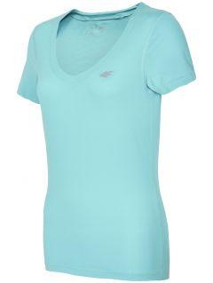 Women's active T-shirt TSDF300 - mint