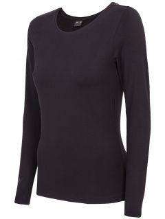 Women's long sleeve T-shirt TSDL300 - black