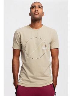 Men's T-shirt TSM269 - beige