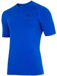 Men's active T-shirt TSMF202 - cobalt blue
