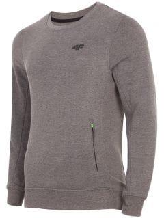 Men's sweatshirt BLM001 - dark grey melange