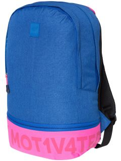 Urban backpack PCU002 - cobalt blue melange