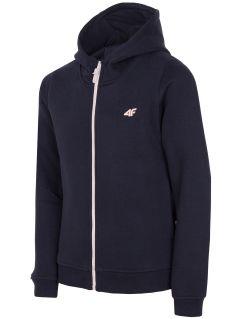 Sweatshirt for older children (girls) JBLD203a - navy