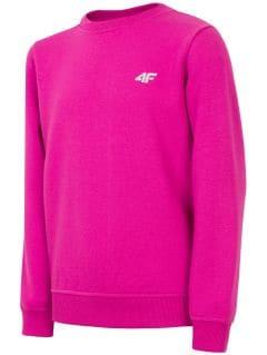 Sweatshirt for older children (girls) JBLD211 - violet