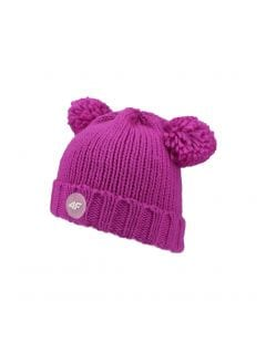Hat for younger children (girls) JCAD240 - fuchsia