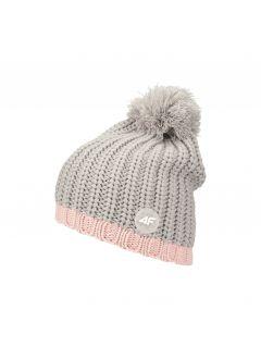 Hat for older children (girls) JCAD241 - grey