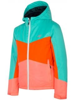 3in1 jacket for older children (girls) JKUD204 - multicolor allover