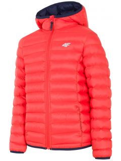 Down jacket for older children (boys) JKUMP206 - orange