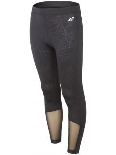 Active leggings for older children (girls) JLEG400 - black
