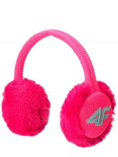 Earmuffs for older children JNAUU200 - fuchsia