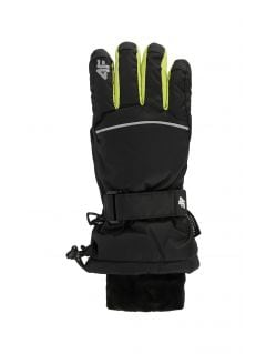 Ski gloves for older children (boys) JREM401 - black