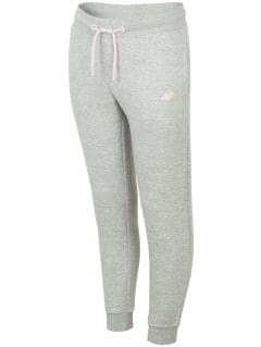 Sweatpants for older children (girls) JSPDD201b -  dark navy