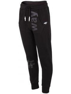 Sweatpants for older children (boys) JSPMD203 - black