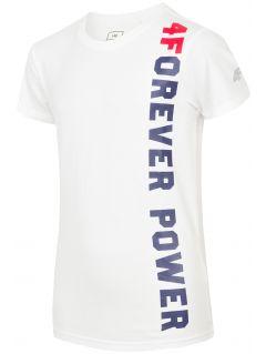T-shirt for older children (boys) JTSM211 - white