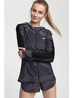 Women's active hoodie BLDF200 - multicolor allover