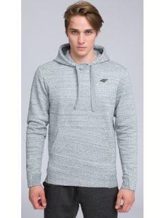 Men's Hoodie BLM216 - gray melange