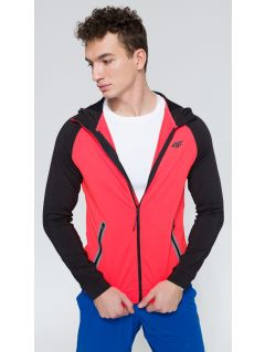 Men's active sweatshirt BLMF207 - red