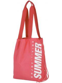 Beach bag TPL204 - light neon pink