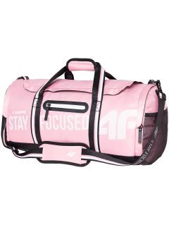 Women's training duffel bag TPU100 - light pink