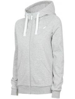 Women's hoodie BLD301 - light grey melange