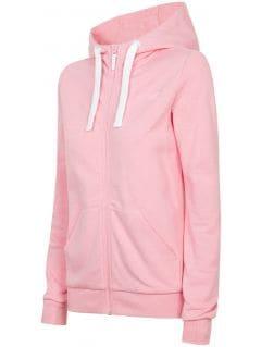 Women's hoodie BLD301- light pink melange